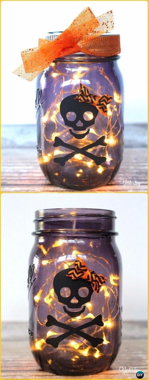 Best DIY Halloween Mason Jars Ideas On Pinterest DIY - Best diy mason jar halloween crafts ideas