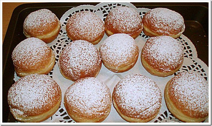 The German Krapfen a/k/a Berliner a/k/a Doughnut #Recipe