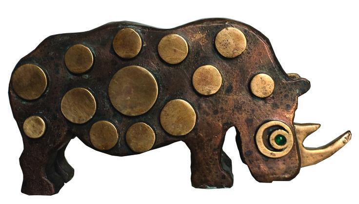 """""""Rinoceronte"""" 2015.  Archivio Carlo Palli, Prato"""