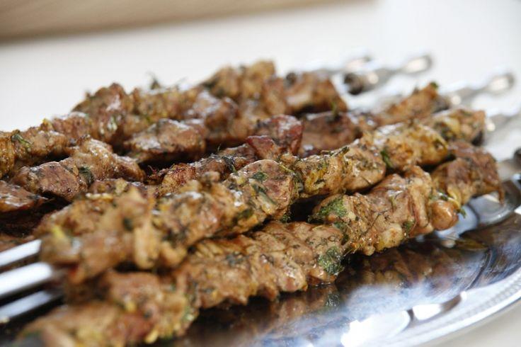 Armenischer Schaschlik Armjanskij schaschlik - Армянский шашлык - Russische Rezepte