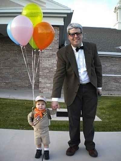 Up | 32 Family Halloween Costumes That Will Make You Want To Have Kids