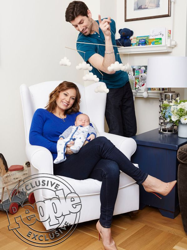 Good Morning America's Ginger Zee: Meet My Son Adrian! http://celebritybabies.people.com/2016/03/17/ginger-zee-dancing-with-the-stars-motherhood-balance-family-photo/
