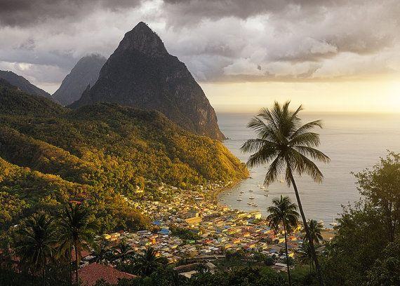 Explore The Beauty Of Caribbean: Best 25+ Saint Lucia Ideas On Pinterest