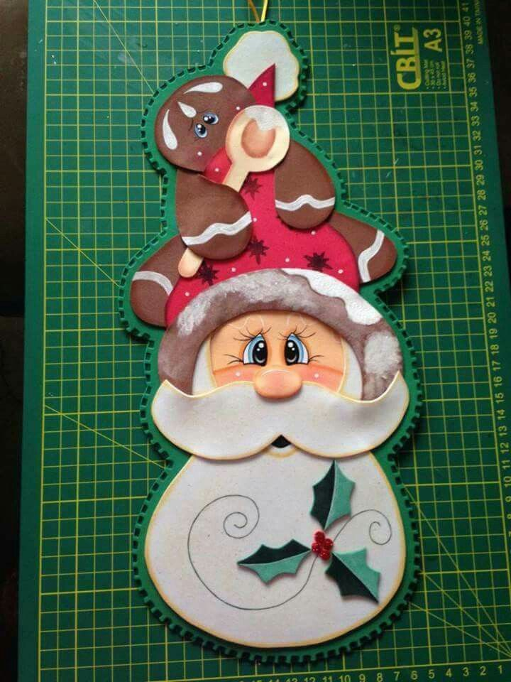 314 best DETALLES FOAMI images on Pinterest Christmas crafts