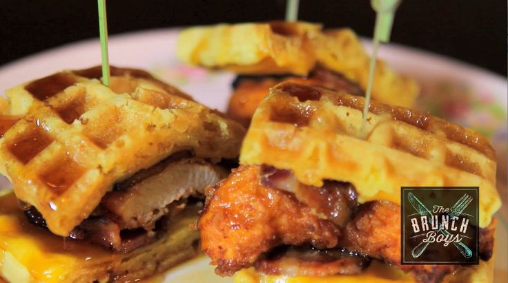 The Brunch Boys Jeremy Jac and Adam Welby visit Pork Slope in Brooklyn where Jeremy and Top Chef Dale Talde make his Chicken and Waffle Sliders along with his Kimchi Spam Fried Rice.  Adam goes behind the bar to make a negroni and a Pork Slope specialty Miranda's Right!  www.TheBrunchBoys.com  LIKE us on Facebook http://www.facebook.com/BrunchBoys FOLLOW us on Twitter http://www.twitter.com/TheBrunchBoys FOLLOW us on Instagram http://instagram.com/brunchboys
