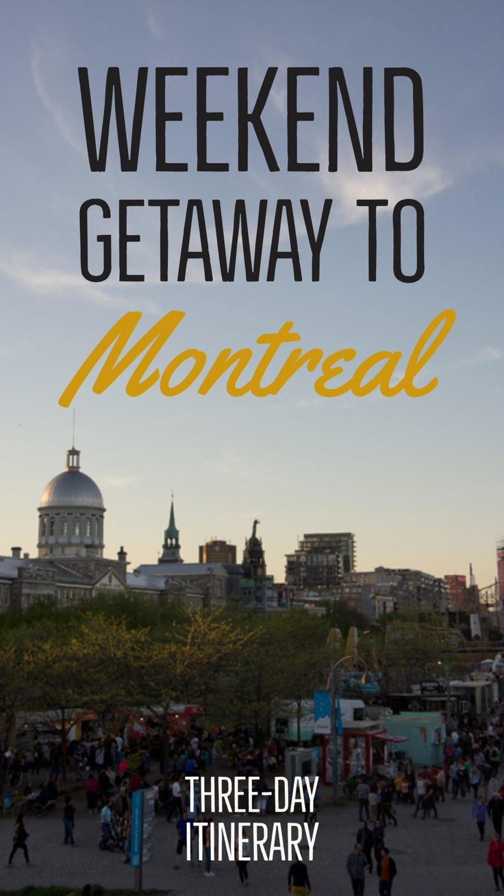 Montreal is a perfect place to escape for the weekend. To get the most from a weekend trip, use this three-day Montreal itinerary | My Wandering Voyage travel blog