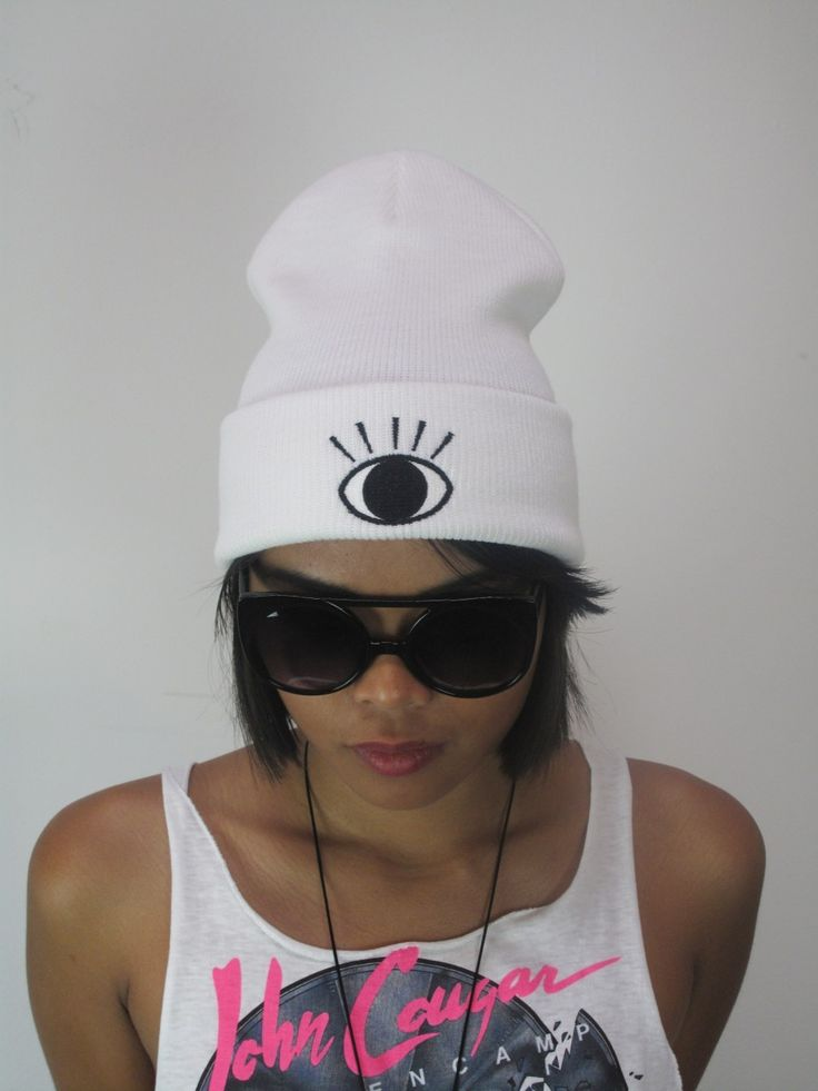 Clumsy Cat Store - CLUMSY CAT - EYE Beanie , $35.80 (http://shop.clumsy-cat.com/clumsy-cat-eye-beanie/)