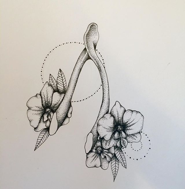 Image result for wishbone tattoo