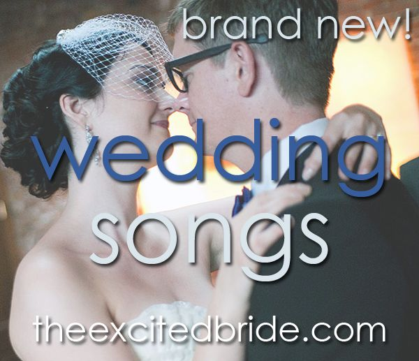 New Wedding Songs For 2012