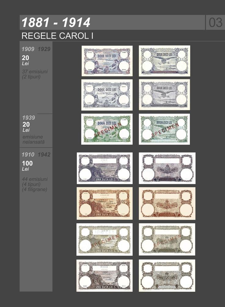 Romanian banknotes 1881-1914
