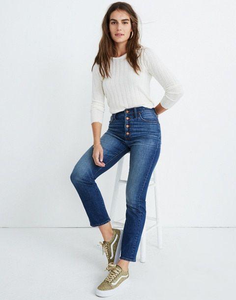 ba1ea521ae The Perfect Vintage Jean: Comfort Stretch Edition in glenmoor wash image 1