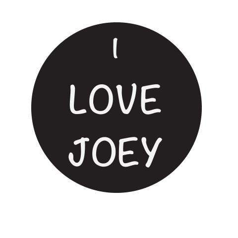 Joey Graceffa sticker..not gonna lie that Is pretty cool lol  but I don't put stickers on my  truck :)
