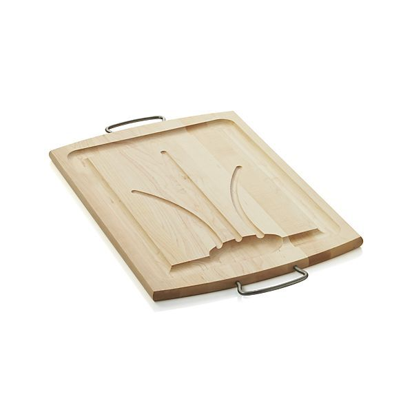 Reversible Carving Board II    Crate and Barrel
