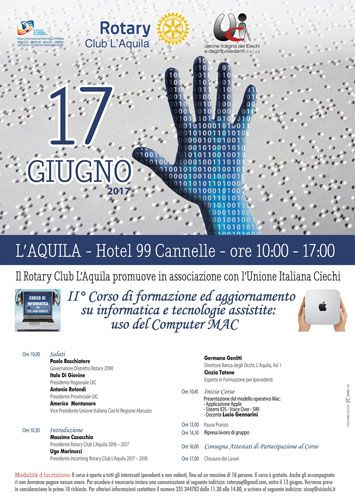 LAquila Corso di Formazione su informatica e tecnologie assistive