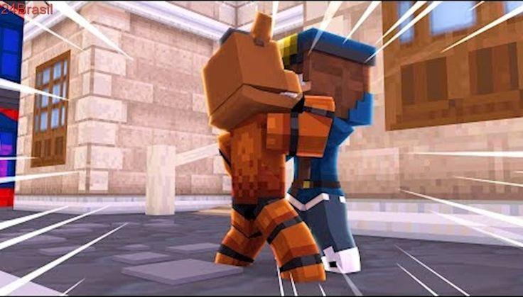 Minecraft: ESCOLA DE ANIMATRONICS - FREDDY BEIJOU A VIGIA! (FIVE NIGHTS AT FREDDY'S) #16