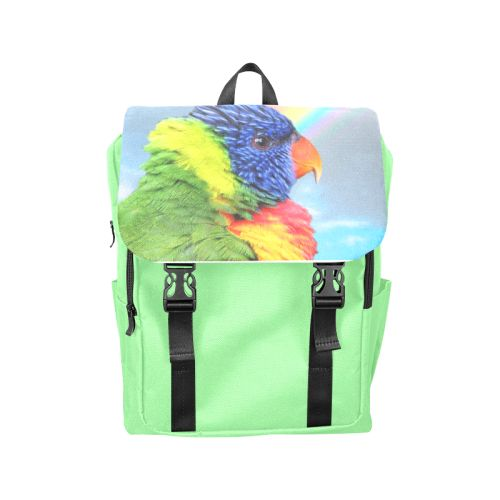 Rainbow Lorikeet Casual Shoulders Backpack. FREE Shipping. FREE Returns. #lbackpacks #parrots