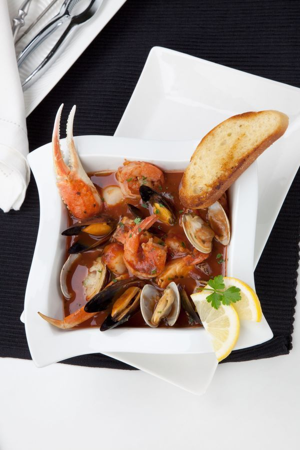 Soup recipe cioppino stew sauces soups and tomato soup for Recipe for seafood stew