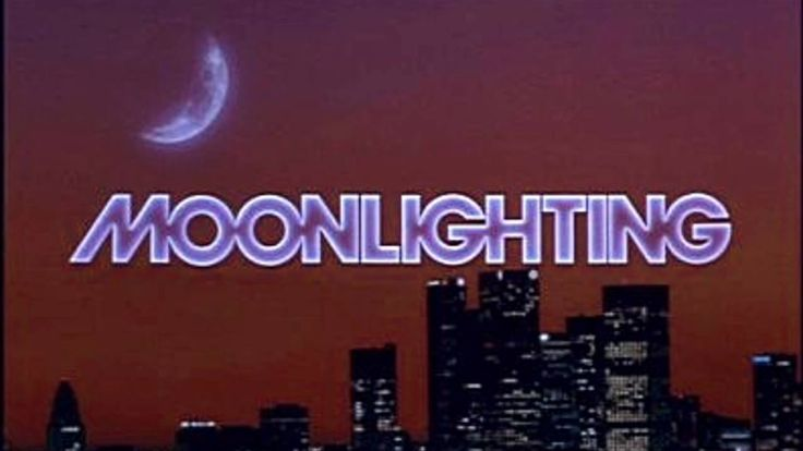 MOONLIGHTING (1985-1989; ABC, USA; theme written and performed by Al Jarreau). ****TOP 40**** It's amazing how many surveys of classic TV themes completely overlook this beautiful, sophisticated song sung with the usual exquisiteness by Al Jarreau, who also wrote it. This is one of the very best theme songs of '80s TV. (KevinR@Ky)