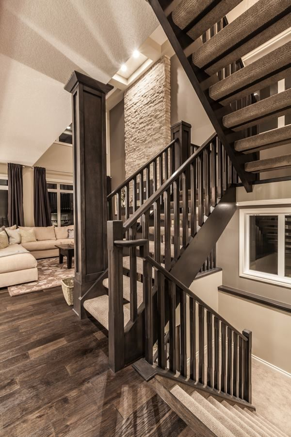 118 Aspen Summit Dr. SW, Calgary AB. #Staircase
