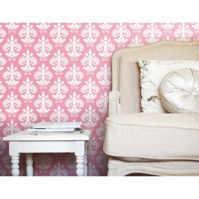devine color chantilly wallpaper blossom baby