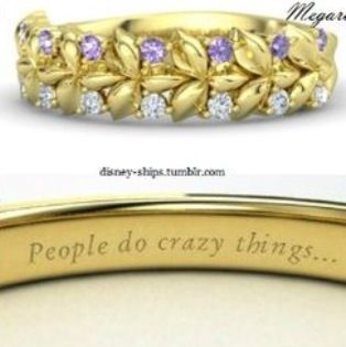 Disney princess rings: Meg
