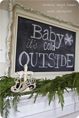 cute Christmas decoration idea