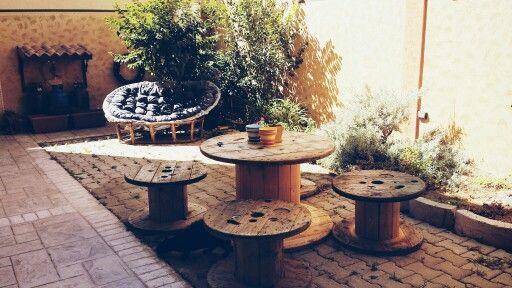 #Spool#bobine#spoolDIY#woodenspool#cablespool
