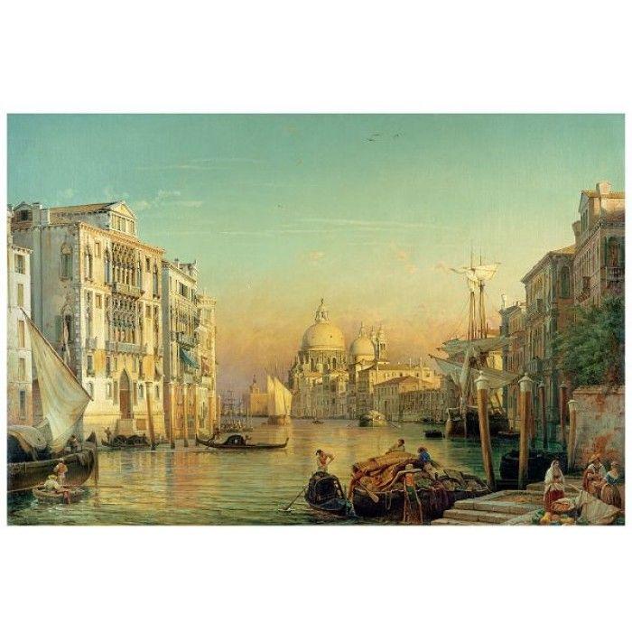 Гранд канал във Венеция,пъзел Ravensburger 3000 части
