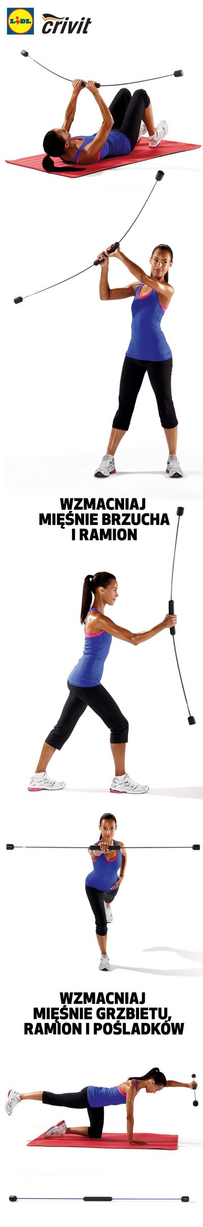 Drążek Swing Stick to przyrząd, za pomocą którego każdy może wzmacnia mięśnie niemal całego ciała. Nieważne, czy jesteś sportowcem, amatorem czy początkującym. Nieważne, czy masz 15, 35 czy 65 lat! #lidl #swingstick #drazek #trening #fitness