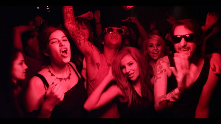"""Song inspiration for CATCH ME WHEN I FALL (club scene) - """"Blackout"""" by Breathe Carolina"""