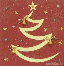 Картинки по запросу новогодние открытки своими руками