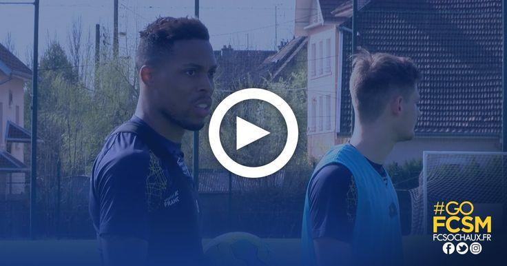"""[vidéo] 💬 """"Rendre une meilleure copie qu'au match aller"""" ➡️ Mickaël #Alphonse avant #RCSAFCSM. #Interview #GoFCSM  ► http://www.fcsochaux.fr/fr/index.php/article/9657 …"""