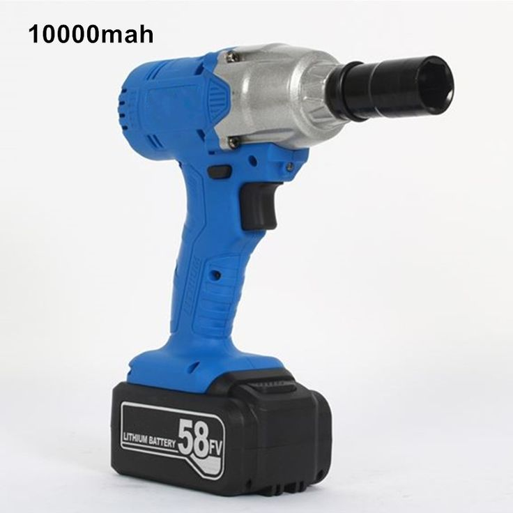139.90$  Buy now - http://ali0go.worldwells.pw/go.php?t=32734795984 - 58v 10000mah cordless electric impact wrench lithium battery drill multi-function rechargeable electric tools 1pc battery