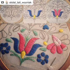 @stolat_tati_wozniak #bordadomexicano #embroidery #bordado #ricamo #broderie #handembroidery #needlework