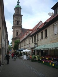 Erlangen, Germany-we did a lot of shopping down this street when we lived here.