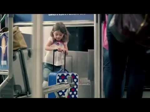 The suitcases race: British Airways TVC for the 2012 London Olympic Games.