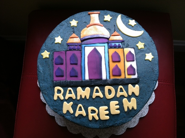 Cake Designs For Ramadan : Ramadan cake Caking (fondant) Pinterest Ramadan and ...