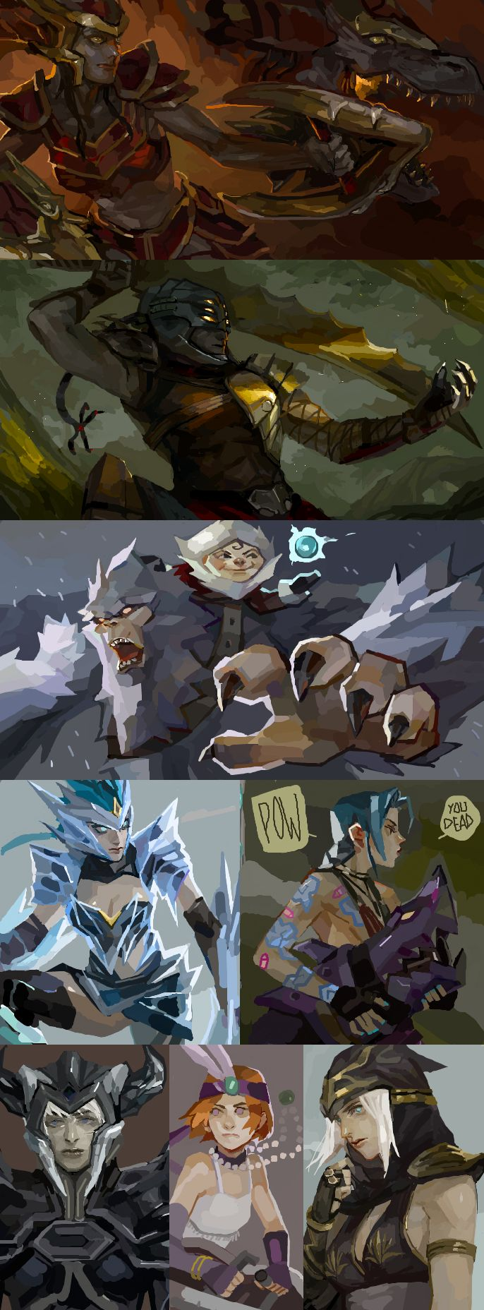 [LoL] champs compilation 2 by zuqling.deviantart.com on @DeviantArt