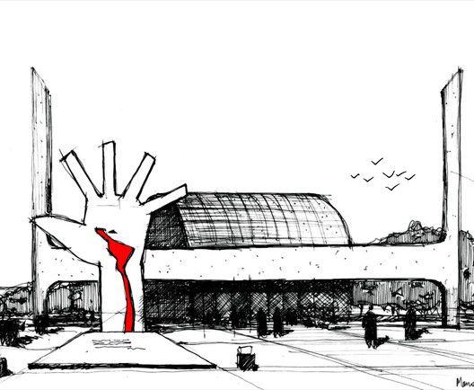 Memorial da América Latina. Oscar Niemeyer. São Paulo, Brasil © Fabricio Contreras Ansbergs