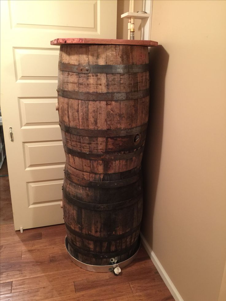 Barrel hot water heater cover