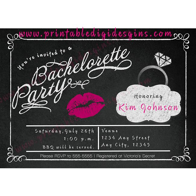 114 best Party Invitations images on Pinterest Party invitations