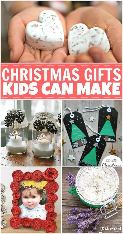 Are your kids going to be making Christmas gifts this year? Here are some great ideas for Christmas gifts kids can make.