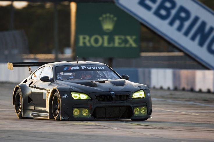 BMW M6 GTLM SEBERING