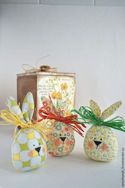 Подарки на Пасху ручной работы. Ярмарка Мастеров - ручная работа Пасхальный Кролик - весенний декор, подарок, яйцо, Пасха. Handmade.