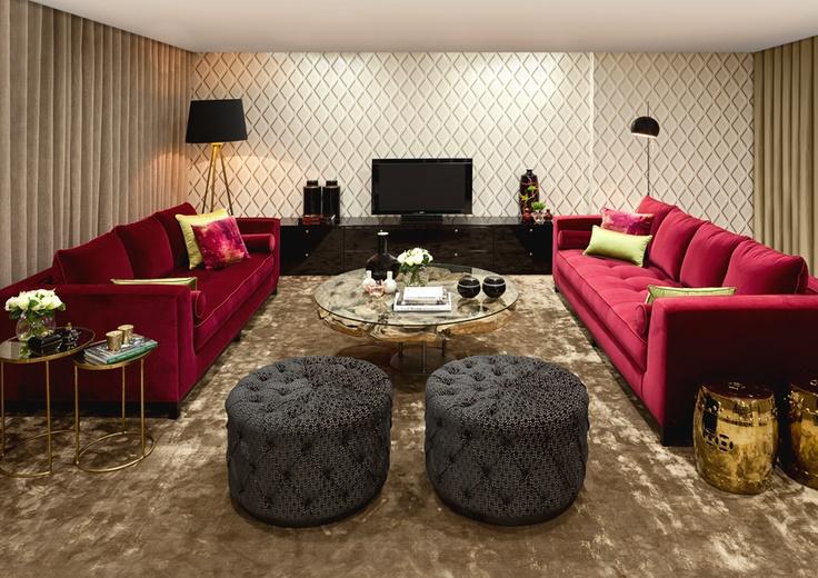 Sala de estar  TGV Interiores  Pinterest