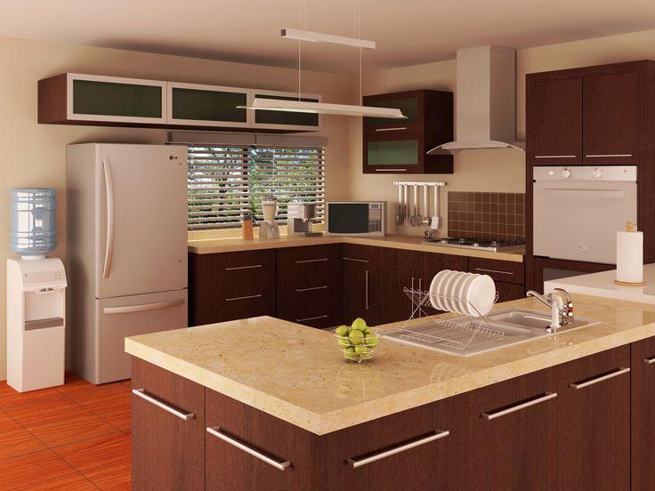 ambienta tu cocina con iluminacin led y tonos neutros