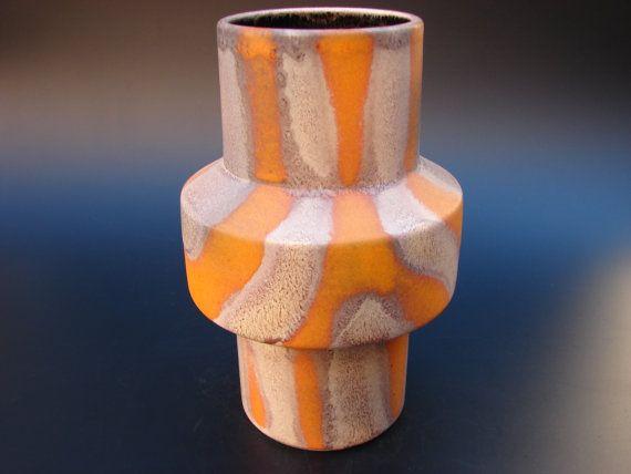 Sixties Dumler & Breiden vase Konstanza vintage German ceramics