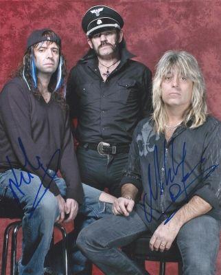 Phil CAMPBELL & Mikkey DEE - MOTÖRHEAD Autograph