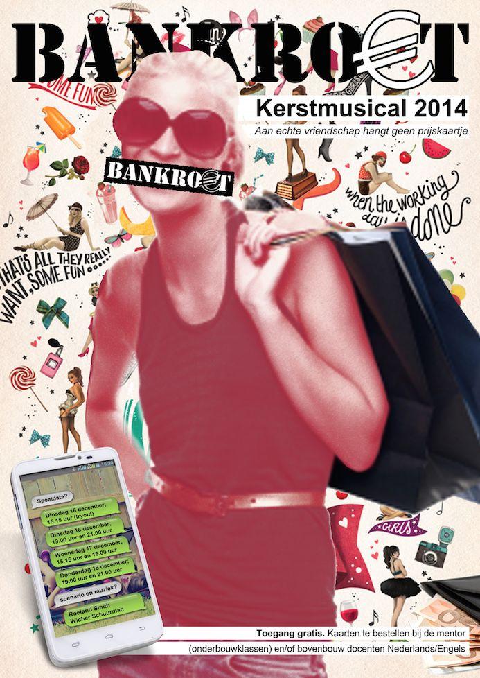 Poster - Kerstmusical 2014