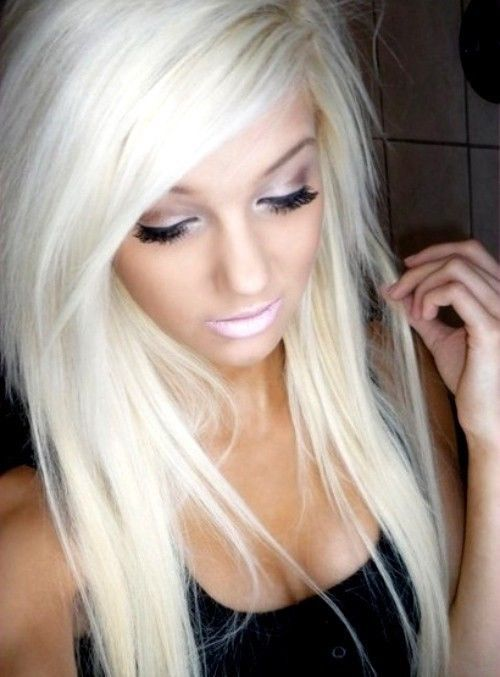 34 best hair extensions that look real images on pinterest 60 platinum blonde 18 full head clip in hair extensions clipin kardashian pmusecretfo Choice Image
